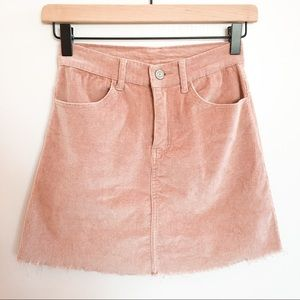 Brandy Melville Blush Juliette Skirt